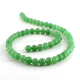 6 mm Green aventurine round beads