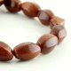 Sandstone barrel beads