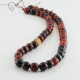 8 mm Miracle Agate faceted round beads