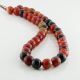 10 mm Miracle Agate faceted round beads