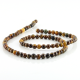 4 mm Tiger eye round beads