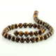 8 mm Tiger eye round beads
