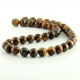 10 mm Tiger eye round beads