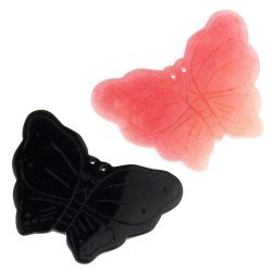 Onyx or jade butterfly