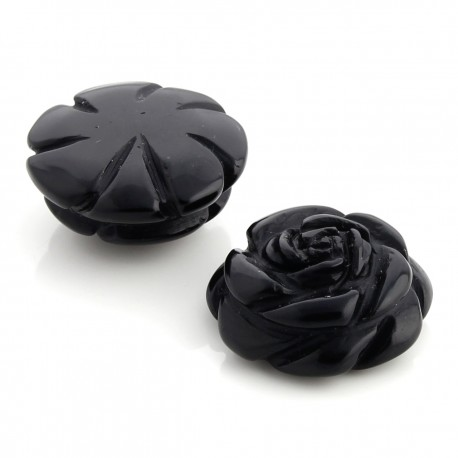 Small onyx rose
