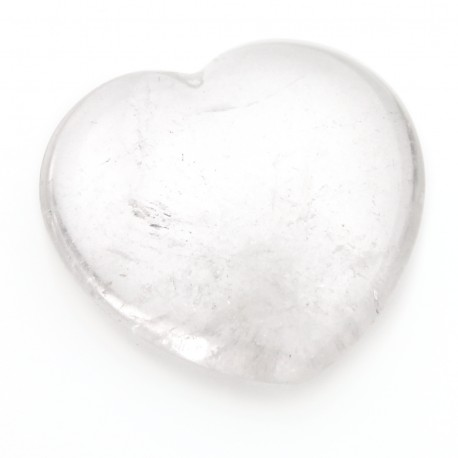 Heart - crystal quartz
