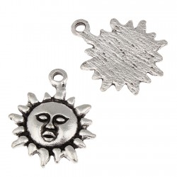 Sun, hanging bead (10 pcs)