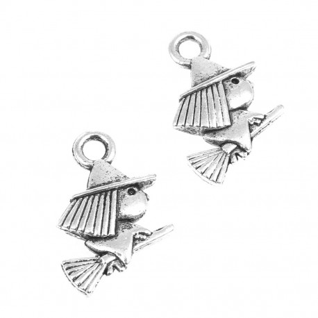 Buy witch shaped finding for hanging witch pendant 27 pcs aloadofball Gallery