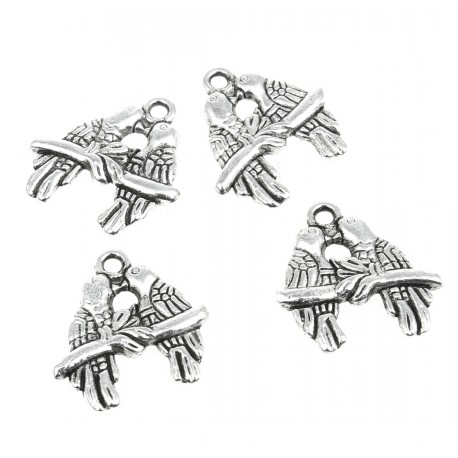 Birds - bead (10 pcs)