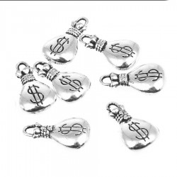 Money bag Charm (12 pcs)