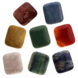 Large cabochon - rectangular shape