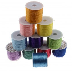 Silicone thread