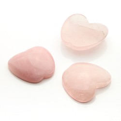 Rose quartz apple gem