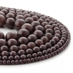 Brown aventurine beads