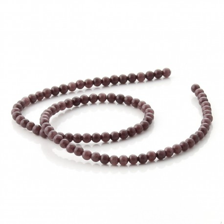 Brown aventurine beads - 4 mm
