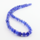 6 mm Blue Dragon Agate round beads