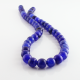 8 mm Blue Dragon Agate round beads