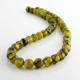8 mm Green Dragon Agate round beads