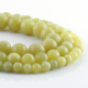 Lemon jade round beads