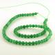 Aventurina verde - bolas 4 mm