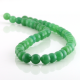 8 mm Green aventurine round beads