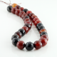 12 mm Miracle Agate faceted round beads