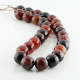 14 mm Miracle Agate faceted round beads