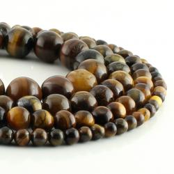 Tiger eye round beads