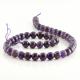 8 mm Amethyst round beads