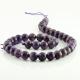 10 mm Amethyst round beads