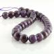 12 mm Amethyst round beads