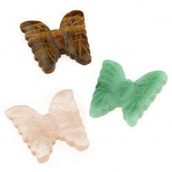 Natural stone butterfly