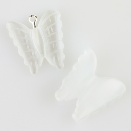 White cat eye butterfly
