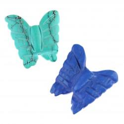 Mariposa en turquenita