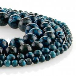 blue labradorite - round beads