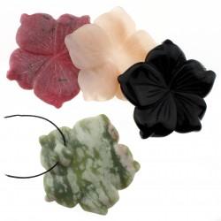Flor de piedras variadas