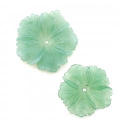Flor de aventurina verde - clavelina