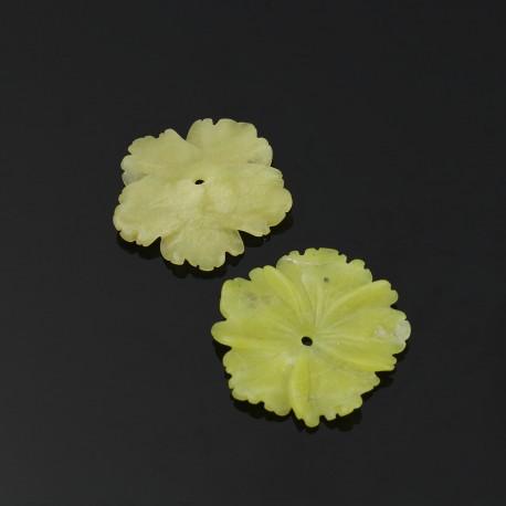 Jade limón - flor clavelina pequeña