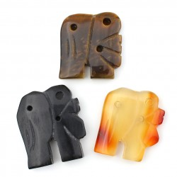 Elefante tallado con 3 huecos