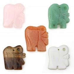 Elephant with hole for embedding
