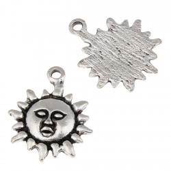 Sol, abalorio para colgar (11 uds)