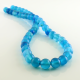Blue Agate round beads - 8 mm