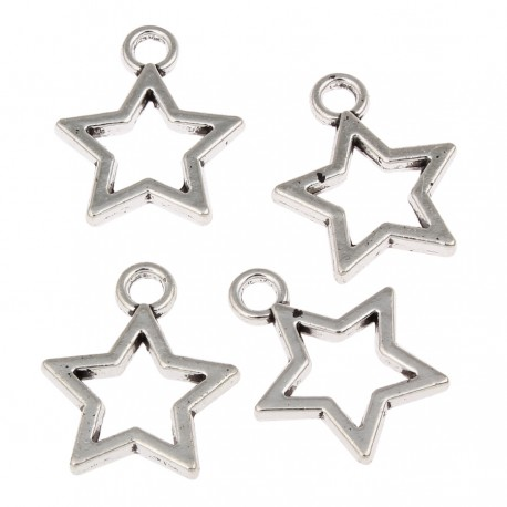 Estrella - dije (14 uds)