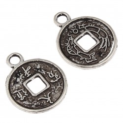 Chinese coin Bead (27 pcs)