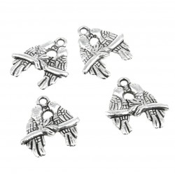 Birds - bead (10 pcs)