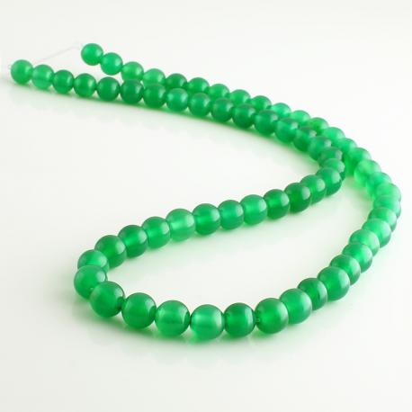 Ágata Verde - bolas 6 mm