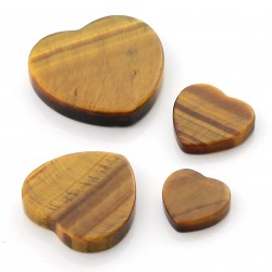 Tiger Eye Heart