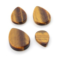 Tiger Eye gems in pear shape