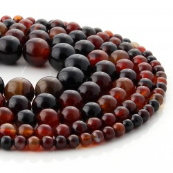 Miracle agate round beads