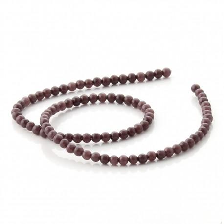 Cuentas de Aventurina marrón - 4 mm